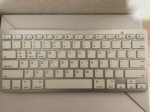 JETech Bluetooth ワイヤレスキーボード ホワイト