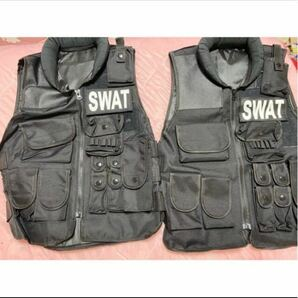 SWAT フィッシングベスト タクティカルベスト 特殊部隊 コスプレ ハロウィン