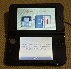【訳あり・送料無料・中古品】   ニンテンドー3DS LL(ゲームカード11枚付き)