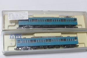 モハ103+モハ102 103系 MMユニット M車 動力つき スカイブルー色 KATO 69MA99B56