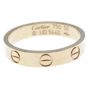 Cartier (カルティエ) ミニラブリング K18PG ピンクゴールド 50号 ※日本サイズ約10号