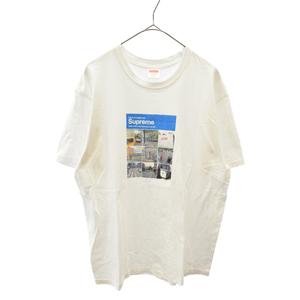 SUPREME (シュプリーム) 20AW Verify Tee フォトプリント半袖Tシャツ ホワイト