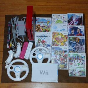 Wii本体(マリオ限定品)