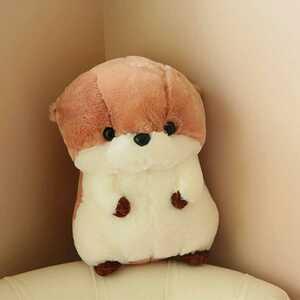 カワウソ 動物 かわいい プレゼント おもちゃ ベッド 抱き枕 七五三 男の子 女の子 小学生 誕生日 ギフト 30cm