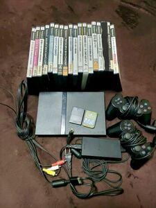 【豪華セット】プレーステーション2 薄型 本体 人気ソフト17個 #PlayStation2