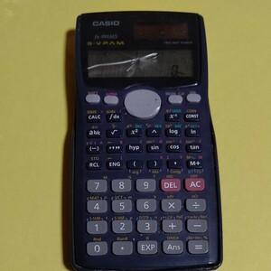 CASIO fx-991MS 関数電卓 画面割れ