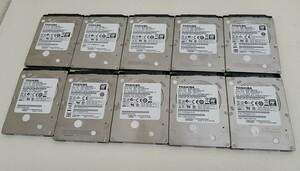 東芝 2.5インチ HDD320GB 10点セット