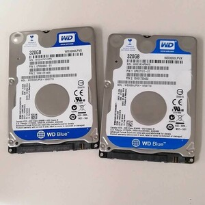 WD 2.5インチ HDD320GB 2点セット
