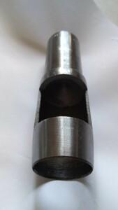 丸型 特大 ポンチ 30mm 型抜き 抜き型 レザークラフト工具