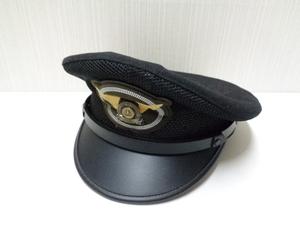 【未使用品】 鉄道 JR西日本 制帽 帽子 サイズ57