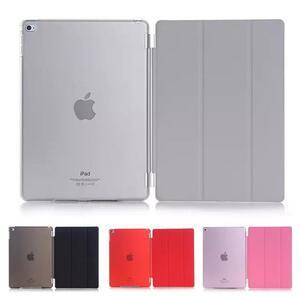 iPad mini 5/iPad mini 4/mini5用レザーケース/自動スリープケース/スタンドカバー 多色背面半透明横開き軽量薄型カバー