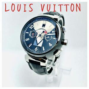 ルイヴィトン タンブール レガッタ 自動巻 VUITTON メンズヴィト腕時計
