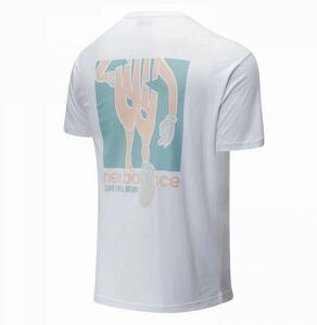 ニューバランス new balance NB 新品 メンズ 快適 コットン100% 半袖 Tシャツ