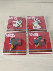 東京オリンピック2020 コカ・コーラ オリジナルピンバッチ