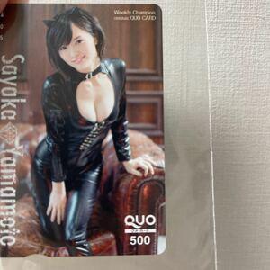 山本彩 QUOカード図書カード セット抽プレ