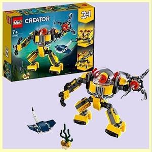 ☆★おススメ★☆新品☆未使用★ クリエイタ- レゴ(LEGO) F-3L 女の子 男の子 海底調査ロボット 31090 知育玩具 ブロック おもちゃ