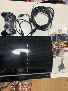 PlayStation3 初期型 CECHH00 プレイステーション3 500GB変更モデル