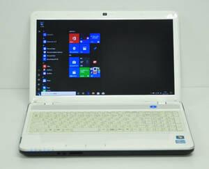 ♪ 良品 富士通 LIFEBOOK AH43/G ♪ Core i3-2350M / メモリ4GB / HDD:640GB / カメラ / テンキー / マルチ / Office2019 / Win10