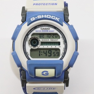 カシオ G-SHOCK G-LIDE 腕時計 DW-003 水色×白 クォーツ CASIO Gショック ジーライド