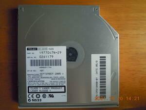 ◆CDスリムドライブ TEAC CD-224E★ジャンクでの出品・送料込み◆