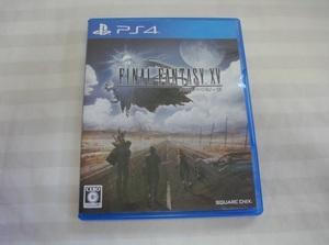 PS4ゲームソフト1本●美品●ファイナルファンタジー15●FINAL FANTASY XV
