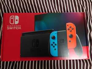 中古品 Nintendo Switch 本体 ニンテンドースイッチ Joy-Con(L) ネオンブルー (R) ネオンレッド 任天堂 ニンテンドースイッチ本体