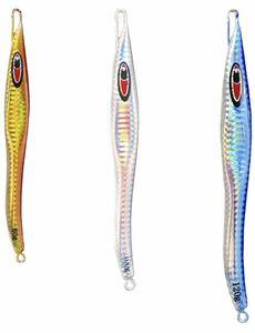 メタルジグ 鉄板太刀魚 ルアーセット 鉄板バイブレーション 汎用 遠投重視 淡水 海釣り対応 シーバス 80g/100g/120g 3色セット装異色