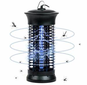 電撃殺虫器 捕虫器 コバエ取り機 蚊取り器 電気 6W