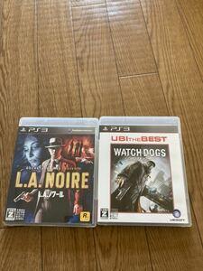 L.A.ノワール ウォッチドッグス セット PS3ソフト