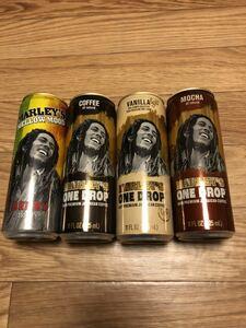 ボブ・マーリー Marley's 缶コーヒー 空缶 日本未発売 Bob Marley レゲエ