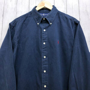 ラルフローレン POLO Ralph Lauren Polo 長袖シャツ メンズ ワンポイント US XLサイズ (日本サイズXXL・2XL相当) 7-293
