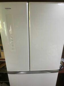 ☆完動品 東芝 6ドア481L ノンフロン冷凍冷蔵庫