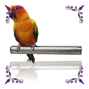 【今回限り】色長さ15㎝ bath&bath 鳥用 止まり木 爪とぎ やすり インコ 文鳥 オウム くちばし ステンレス製 洗える
