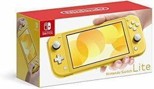 新品Switch Lite イエロー ポーチなし Nintendo Switch Lite イエローJ4998EWT