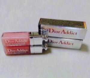 Dior ディオール アディクトリップマキシマイザー 001ピンク ミニ(2ml) 2本