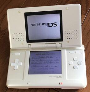 【動作確認済み】Nintendo DS ホワイト ニンテンドー