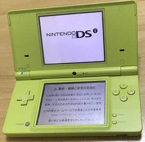 【動作確認済】Nintendo ニンテンドー DSI ライムグリーン