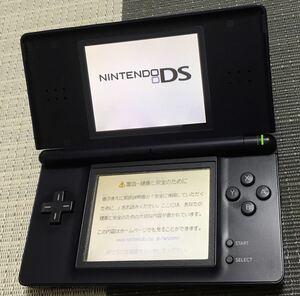 【動作確認済み】Nintendo DS Lite エナメルネイビー
