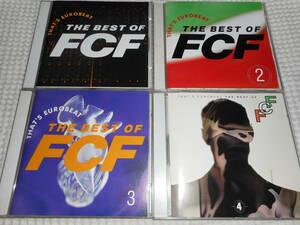 ユーロビート/ディスコ★ザッツ・ユーロビート・ザ・ベスト・オブ・FCF/THAT'S EUROBEAT THE BEST OF FCF★4枚セット