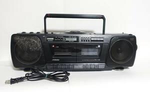 『ビクター CD Wラジカセ RC-X3』Victor ダブルラジカセ カセットテープ