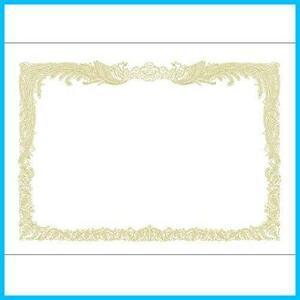 【送料無料-最安】10-1150 F1467 賞状用紙 OA対応 ササガワ 縦書き用 100枚 タカ印 B5 白