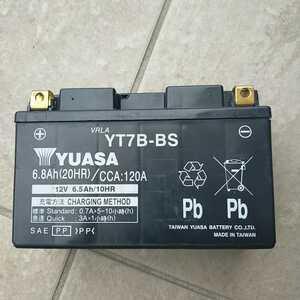 シグナスX バッテリー バイクバッテリー YT7B-BS