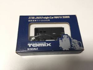 TOMIX 2730 国鉄貨車 ワフ35000形