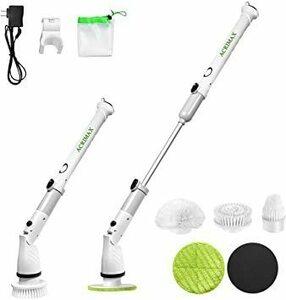 限定価格!【2021最新型】お風呂掃除 電動ブラシ ACRIMAX バスポリッシャー ターボスクラブ 手持ち式 5種類の多U4S7