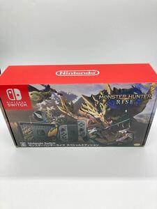 【美品】Nintendo Switch モンスターハンターライズ 本体