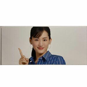 大型ボード 綾瀬はるか パナソニック ビエラ DIGA 販促 ポップ パネル 89cm × 40cm