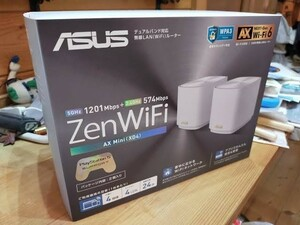 ASUS 無線LANルーター Wi-Fi ZenWiFi XD4 2pack 新品未開封 メッシュWiFi