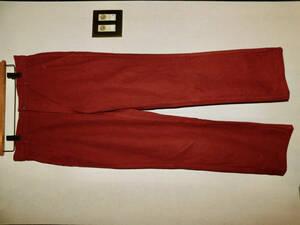 MHL Margaret Howell 日本製 ボトムズ ブリック色 2 男女兼用 パンツ マーガレット ハウエル 一回着用の美品