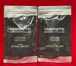 【送料無料】 MAGNITE マグナイト タウリン マカ アルギニン シトルリン 亜鉛 420㎎×180粒 2袋 栄養機能食品