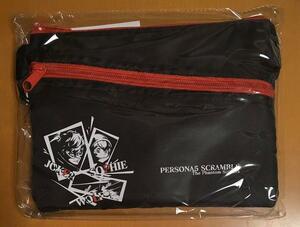 送料無料 サコッシュ 単品 ペルソナ5 スクランブル ザ ファントム ストライカーズ オタカラBOX 特典 限定版 Persona5 P5S 匿名配送
